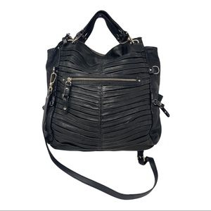 Junior Drake Mini skinny Gail pleated tote bag